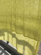 ビーズの縁編みショール5