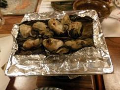 牡蠣 昆布あぶり焼き