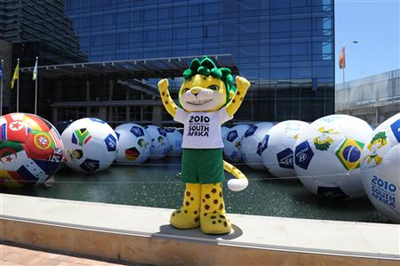 265world cup mascot