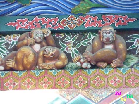 dご機嫌な お猿さん ドアップ