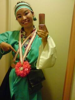 2011花メダル