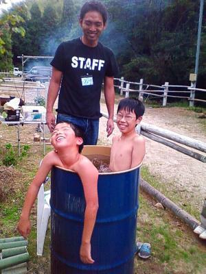 ドラムカン風呂
