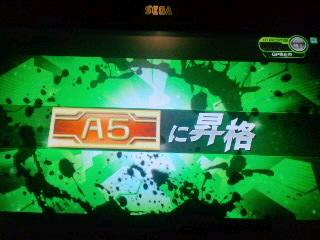 ランクA昇格!(*゚∀゚*)ノ