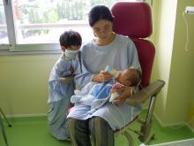 Lucas in Hospital
