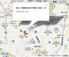 アイキャンガーデン 地図