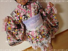 みのり 浴衣ドレス1