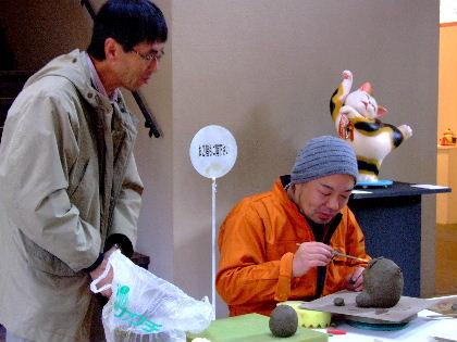 2011_01102011益子もえぎ招き猫0139 工房長