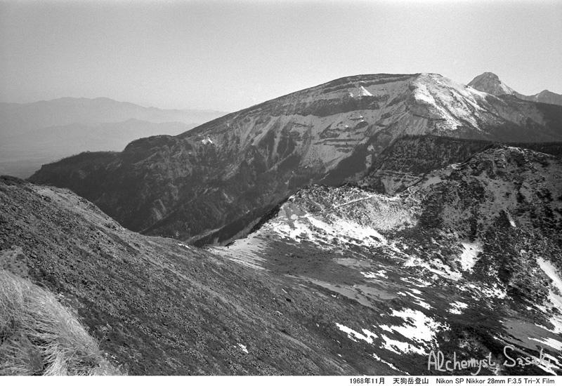 1968年11月23日 天狗岳登山-17