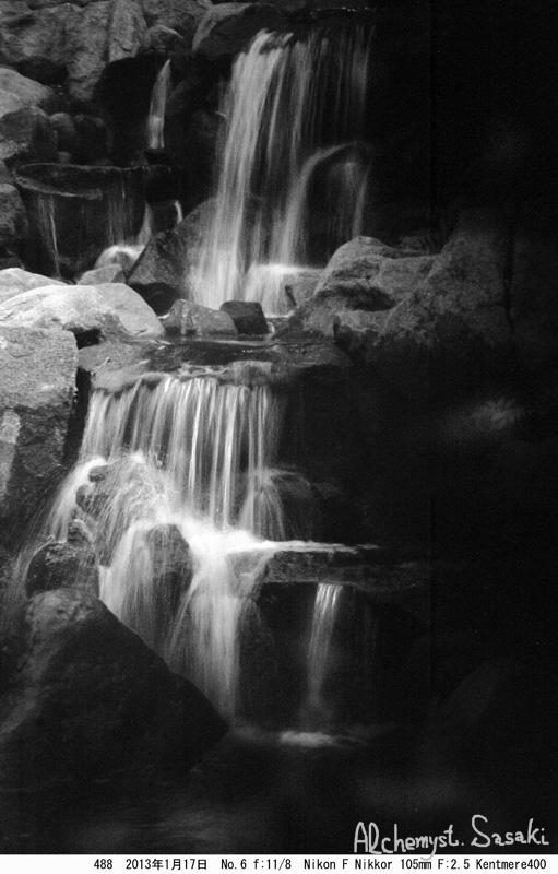 滝 深山幽谷-2