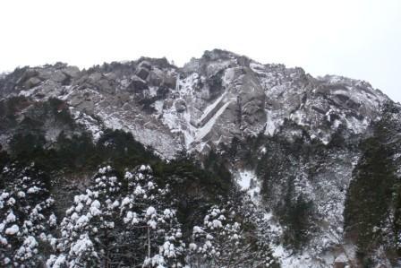 藤内壁全景2