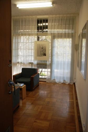 カーテンの部屋