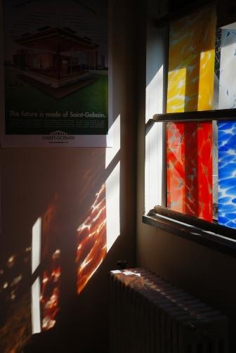 展示室の窓