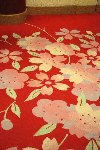 一階ロビー絨毯
