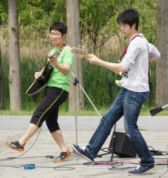 弦楽器隊ステップ