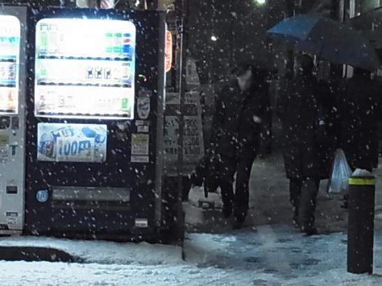 雪の帰り道1