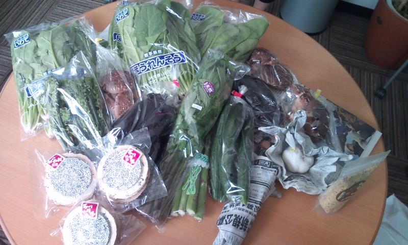 ピチピチ新鮮野菜たち