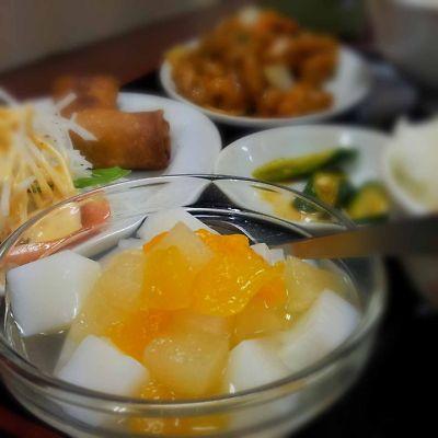 東方美食 杏仁豆腐