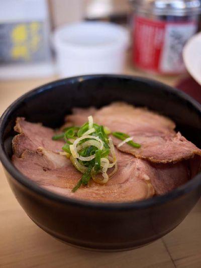ラーメン横綱 豊橋店 焼豚ごはん