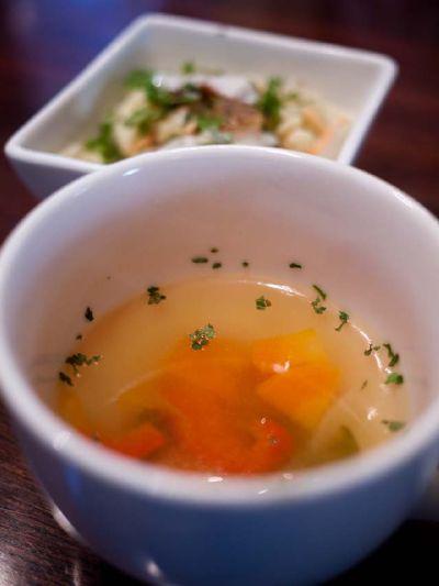 ブラウンシュガーカフェ ランチのスープ