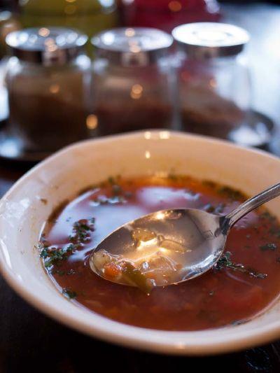 エジプト料理 ツタンカーメン スープ
