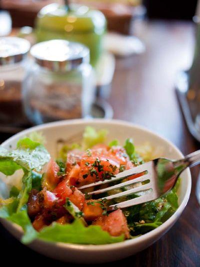 エジプト料理 ツタンカーメン グリーンサラダ