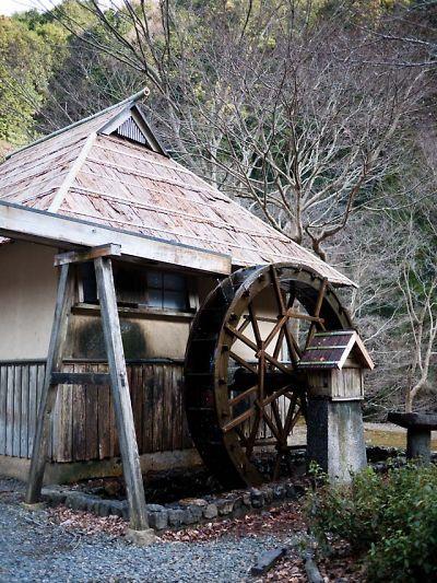 滝ノ谷不動峡 水車小屋