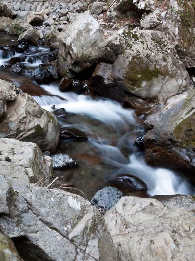 滝ノ谷不動峡 峡谷