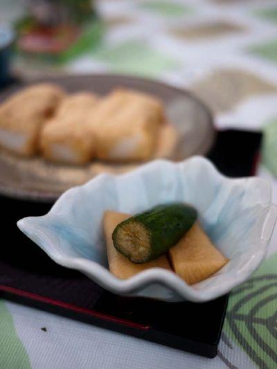 柿の木坂の家 漬物