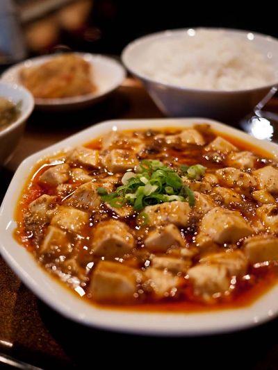 山東貴賓楼 辛い方の麻婆豆腐
