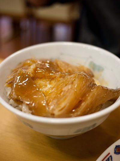 香林酒家 フカヒレ丼