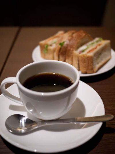 上島珈琲店 厚切りベーコンのクラブハウスサンド