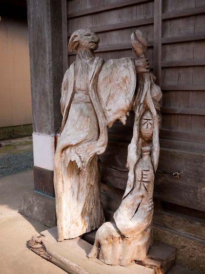 松崎町 伊那上神社