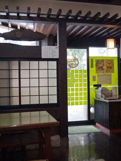 山田かん食堂 店内