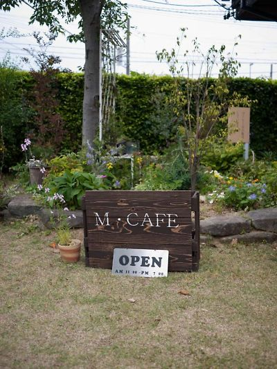 M・CAFE 店の外観