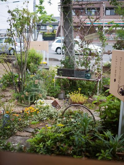 M・CAFE お庭