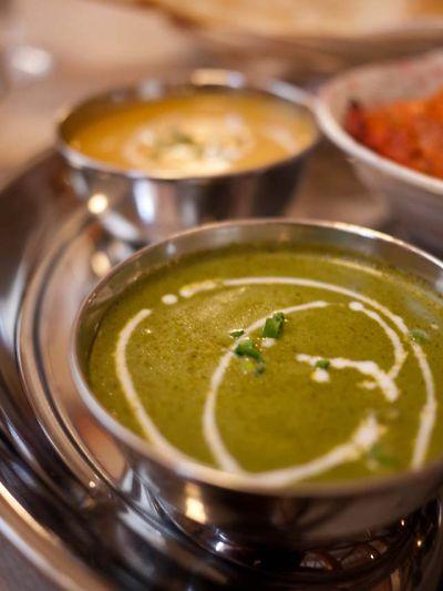 インド料理 ガンガジ ほうれん草のカレー