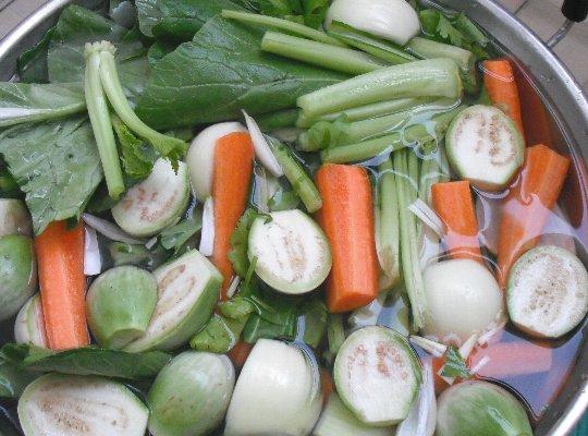 今日の野菜すとっく