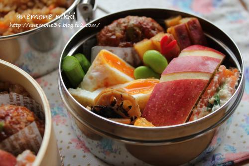 炊き込みご飯弁当2