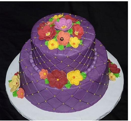 ケーキパープル