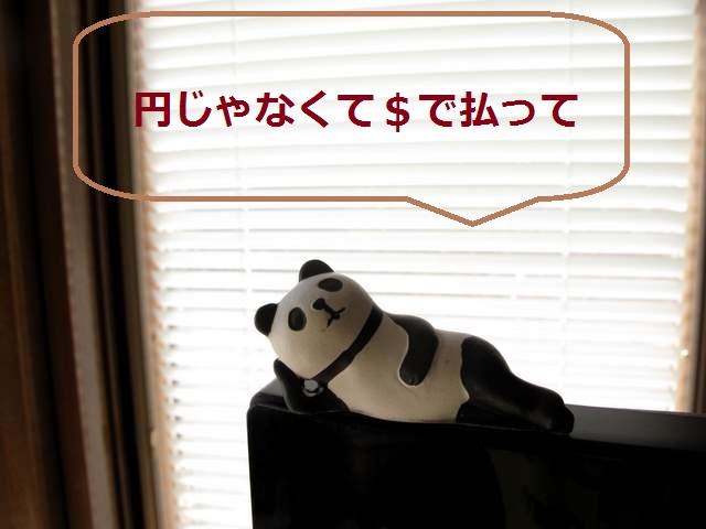パンダ $で・・・りえりんさん