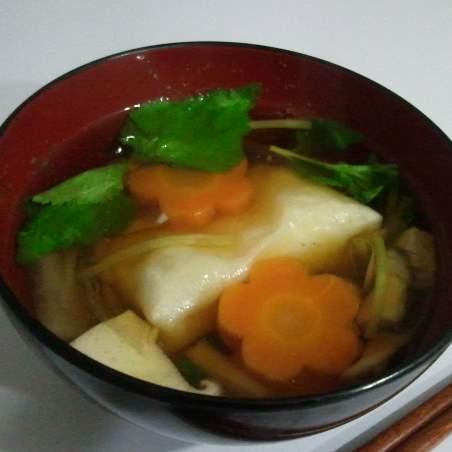 ミミココ家雑煮