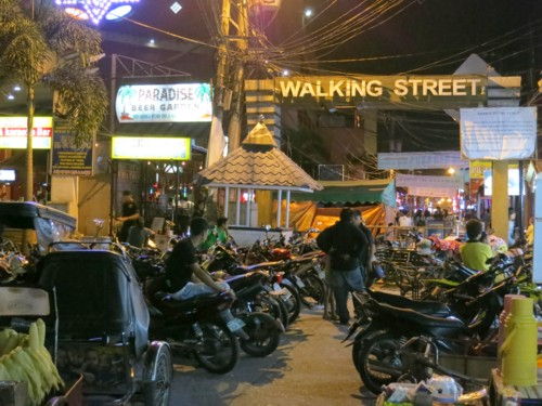 walking street bike parking
