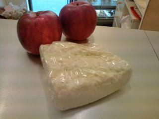 しょ乳で作るカッテージチーズ