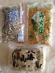 豆・魚・酒粕