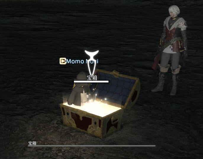 宝箱には入れる
