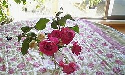s我が家のテーブル花