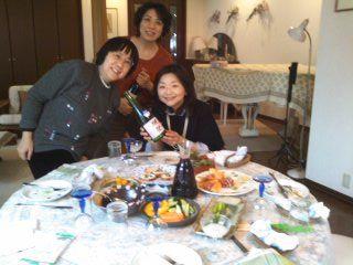 K邸女子会テーブル120308_1412~01
