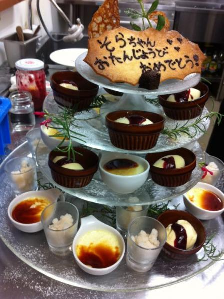 desserts de tour