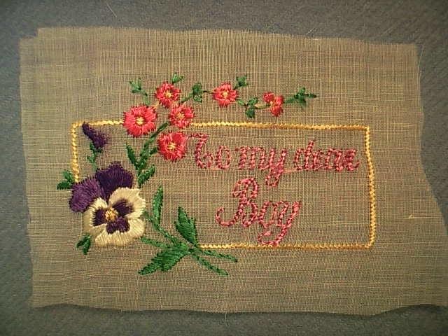 WW1刺繍カード 01