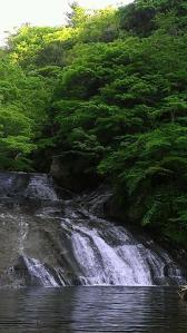 栗又の滝へ 滝巡り7-1